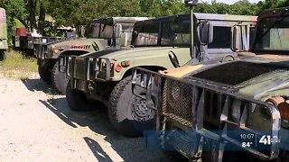 Jackson County sheriff seeks to auction, donate surplus military equipment