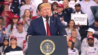 Former President Trump Holds Rally in Cullman, Alabama