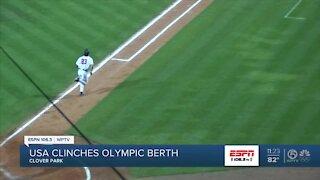 Team USA baseball clinches Olympic spot