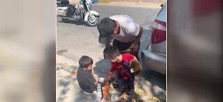 CCSD Police help a homeless family