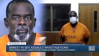 Phoenix police arrest alleged serial rapist connected to six assaults