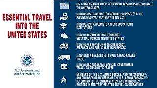 CBP extends cross border travel restrictions