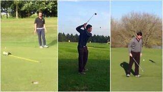 Golf: epic trick shots