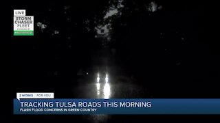 Flash Flooding concerns in Green Country