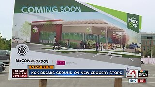 KCK breaks ground on new grocery store