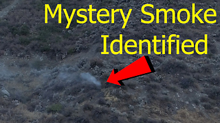 Why is smoke coming out of this mountain?