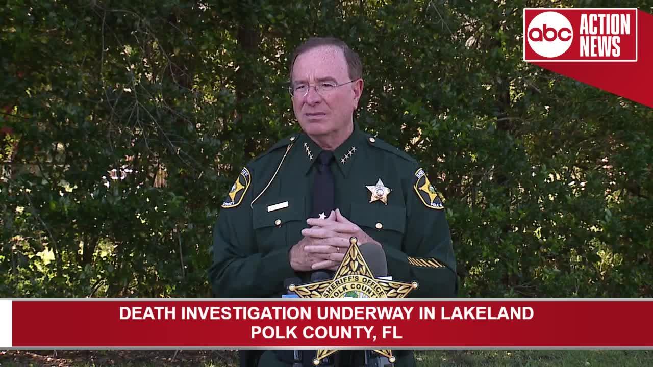 Polk County death investigation in Lakeland