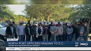 North Port Police to head to D.C.