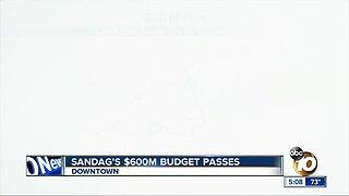 SANDAG's $600 Million budget passes