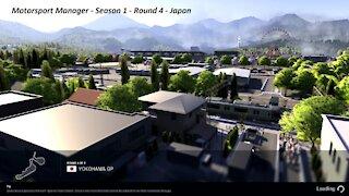 Motorsport Manager - Season 1 - Round 4 - Japan