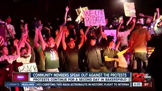 Community leaders absent from protest held for George Floyd