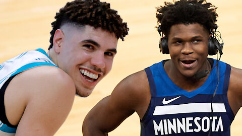 Anthony Edwards Or LaMelo Ball, Who's The Real ROY?: Challenge Accepted