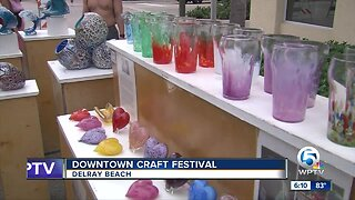 Downtown Craft Festival held in Delray Beach