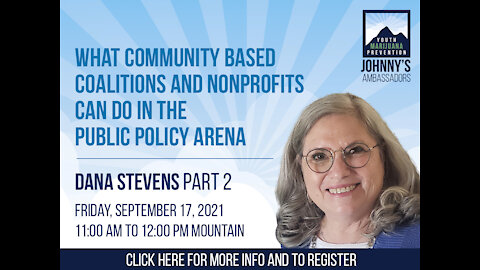 What Community Based Coalitions and Nonprofits Can Do in the Public Policy Arena
