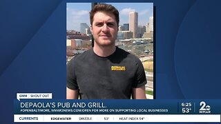 """DePaola's Pub and Grill says """"We're Open Baltimore!"""""""