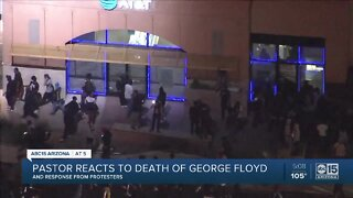 Pastor reacts to death of George Floyd