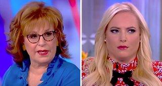 The View's Joy Behar snaps at Meghan McCain: 'I Jump Wherever I Damn Please, OK?!'