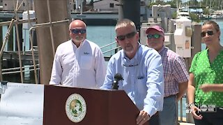 USF scientists release findings from Piney Point research