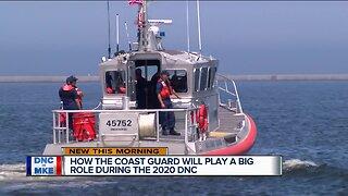 United States Coast Guard prepares for the DNC