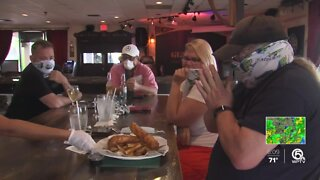 Palm Beach County restaurants can operate at 50% capacity