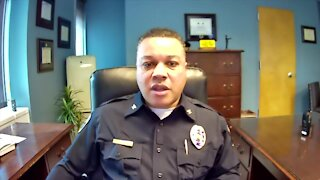 """""""I'm very happy with the appointment,"""" Lansing Police Chief Daryl Green said."""