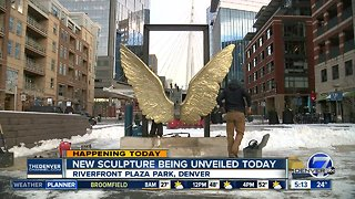 New sculpture being unveiled today