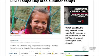 Tampa Bay area summer camps