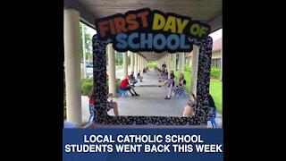 Catholic school students begin new year