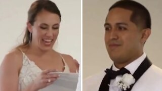 Bride secretly learns Spanish to surprise groom at the altar
