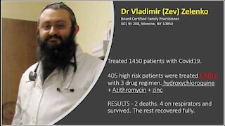 "Dr. Vladimir Zelenko: ""Say NO to COVID anxiety"""