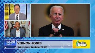 """Vernon Jones calls Biden, """"Joe Crow,"""" says, """"he's a bigot."""""""