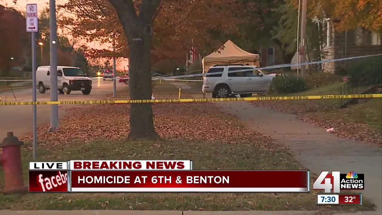 Police investigate homicide at 6th & Benton
