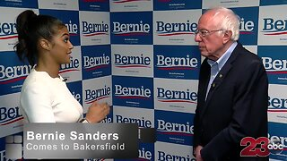 Bernie Sanders talks politics with 23ABC
