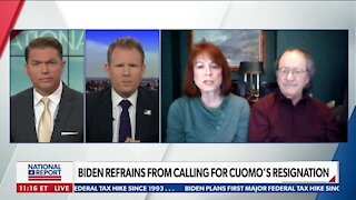 BIDEN REFRAINS FROM CALLING FOR CUOMO'S RESIGNATION