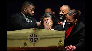"Reverend Al Sharpton on DaunteWright Funeral ""NO JUSTICE? NO PEACE!"