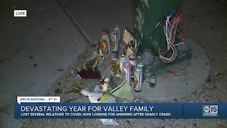 Valley family suffers devastating year due to COVID-19 deaths and deadly crash