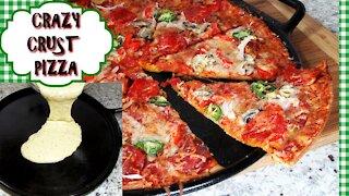 Crazy Crust Pizza Recipe - QUICK & EASY!