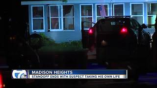 Tear gas used during police standoff in Madison Heights