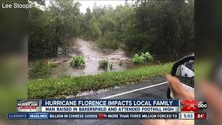 Hurricane Florence impacts local family