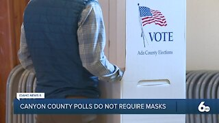 Canyon County polls not requiring masks