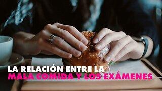 La mala alimentación en época de exámenes