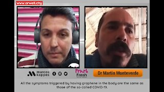 Dr. Martín Monteverde on SARS-CoV-2, PCR, and graphene oxide in vaccines