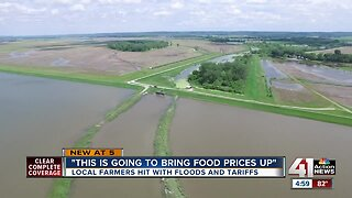 Local farmers hit with floods and tariffs