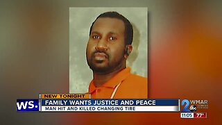 Family fights for justice for man killed while changing tire