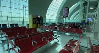 Dubai airport completely deserted due to COVID-19