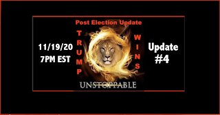 11.19.20 Post Election Update #4 US Military 2020 Election Sting Operation Leads 2 Trump 2nd Term Landslide