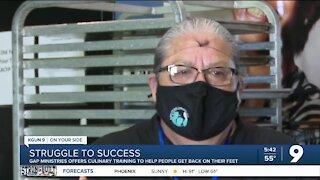 "Culinary training program gives Tucson woman a ""fresh start"""