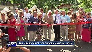 Senator Crapo visits Gorongosa National Park