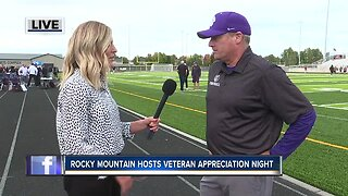Rocky Mountain hosts veteran appreciation night
