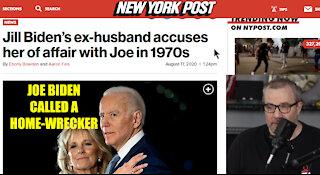 Jill Biden's ex-husband accuses her of affair with Joe in 1970s